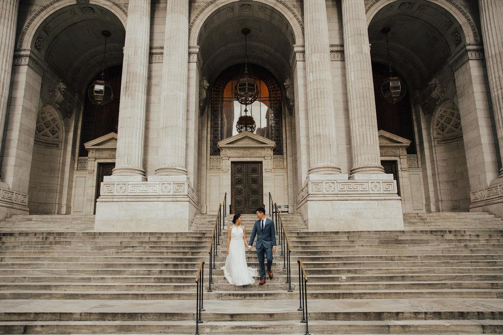 new york public library wedding