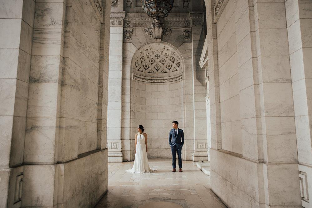 NYPL wedding