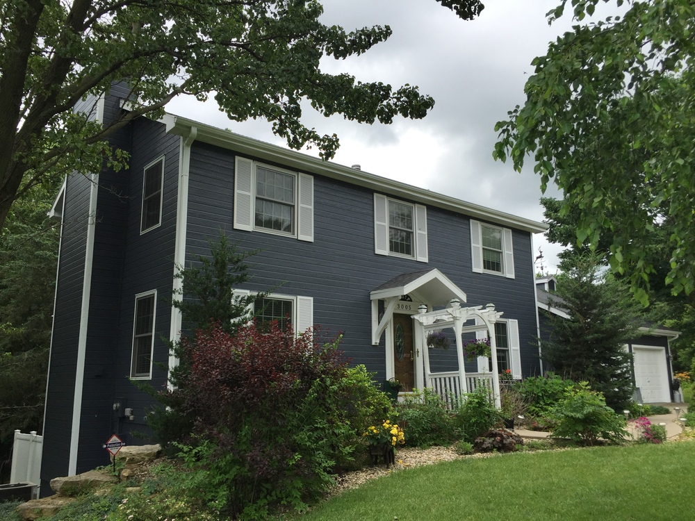 Residential Exterior Repaint Photos