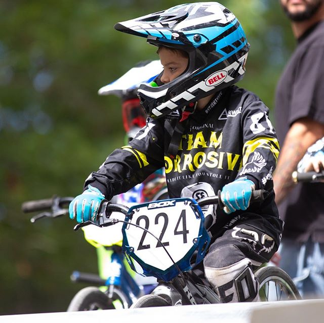 Ramirez, Ramirez and Ramirez, aka Bryan, James and Julieann racing the 2018 New York State BMX Championships . 3 kids, always the same moto. #triplets #bmx #bmxracing @shorehambmx_official @bryanramirez7997