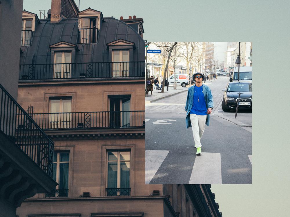 """NIKE FRANCE - """"Kevin"""" - Bleu de Paname"""
