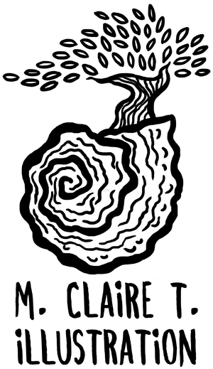 M. Claire T. Illustration