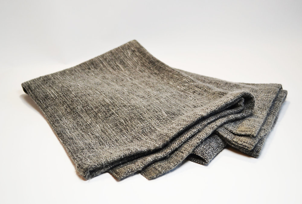 textured   grey blanket   Quantity: 10  Price: $5.50