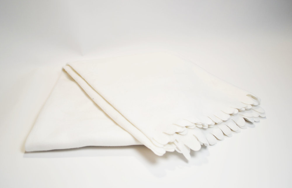 white blanket   Quantity: 5  Price: $5.50