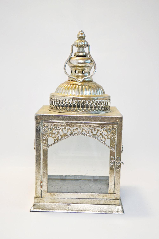 silver Moroccan lantern   Quantity: 5  Price: $20.00