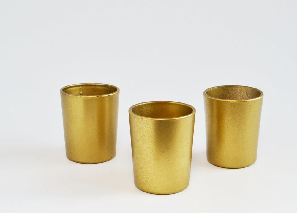 Gold votive   Quantity: 186  Price: $2.50