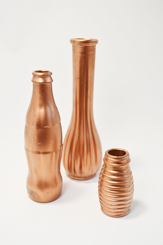 copper bottles - assorted   Quantity: 60  Price: $3.50