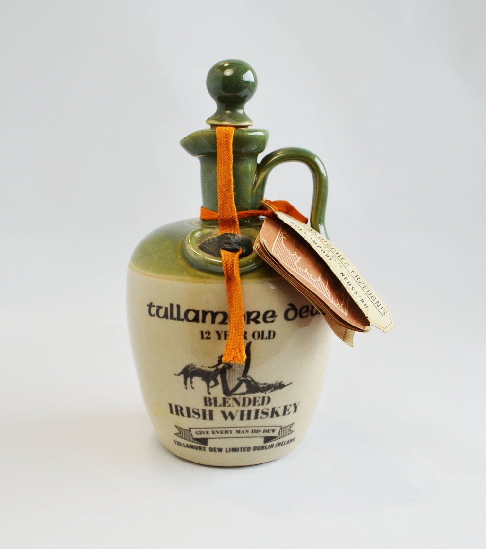 irish whiskey decanter    Quantity: 1  Price: $15.00