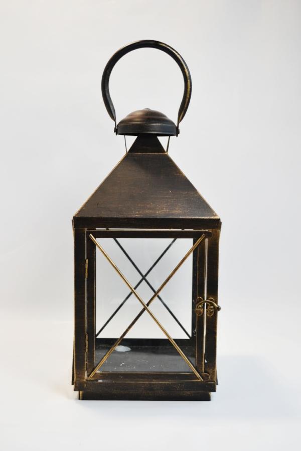 Ricky Lantern  rustic bronze/black  Quantity: 18  Price: $25.00
