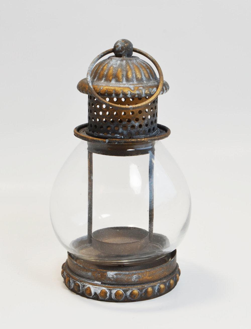 mini copper Lantern   rustic bronzed copper  Quantity: 82  Price: $5.50
