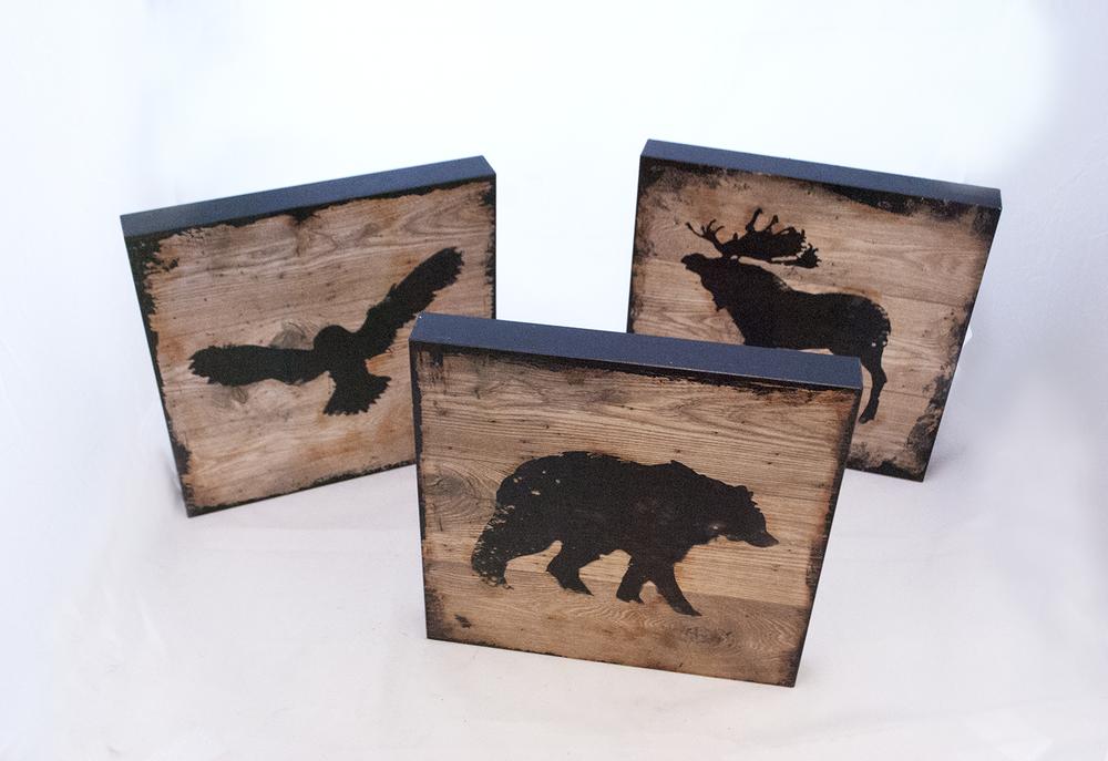 wild animal block prints   Quantity: 6  Price: