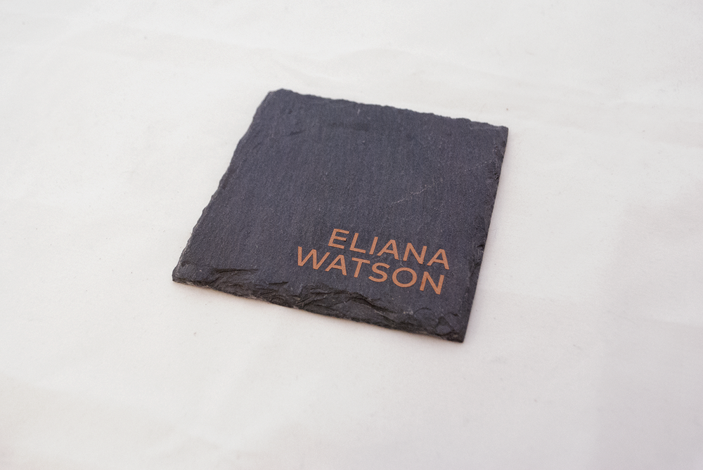 rock slab - place card   Quantity:  Price: