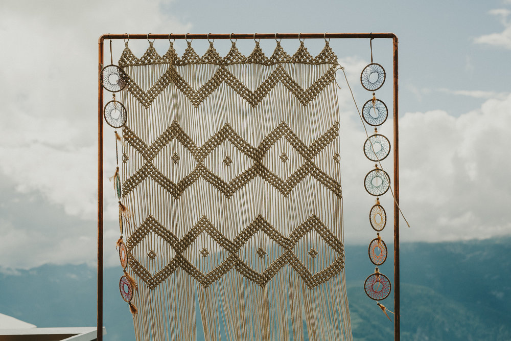 macrame backdrop   quantity: 1  Price: $195.00