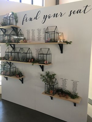 wall facade + shelves + terriariums   Quantity: 1  Price: $650.00 (graphic not included)