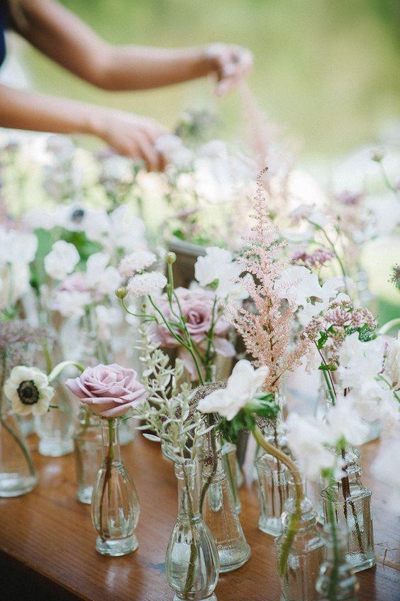 assorted mini glass single bud vases.jpg
