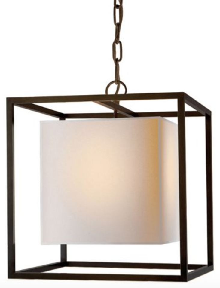 Bronze Small Caged Lantern