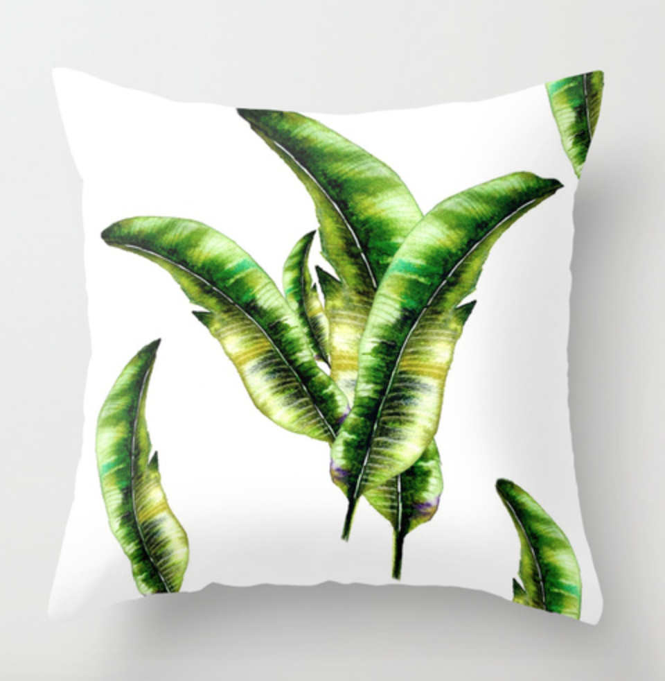 Banana Lead Throw Pillow