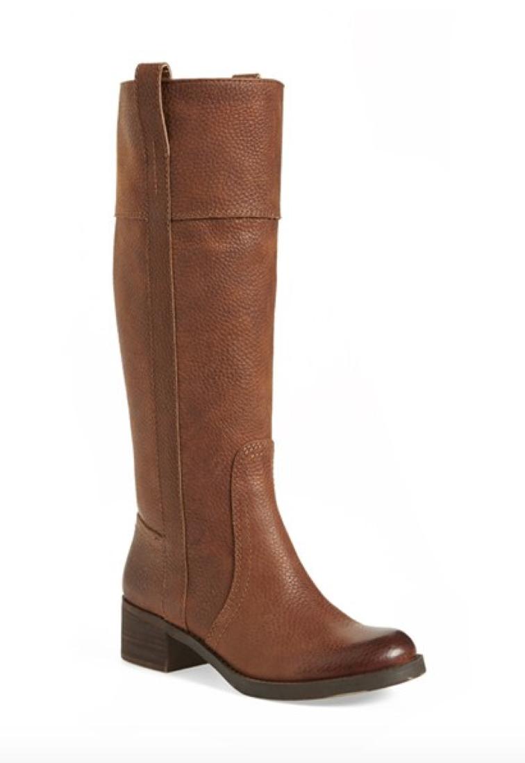 Lucky Brand Wide Calf Boot
