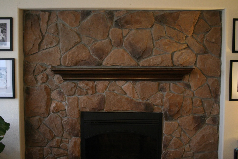 how to how to whitewash stone fireplace : How To Whitewash Stone: DIY Fireplace Makeover — Coastal ...