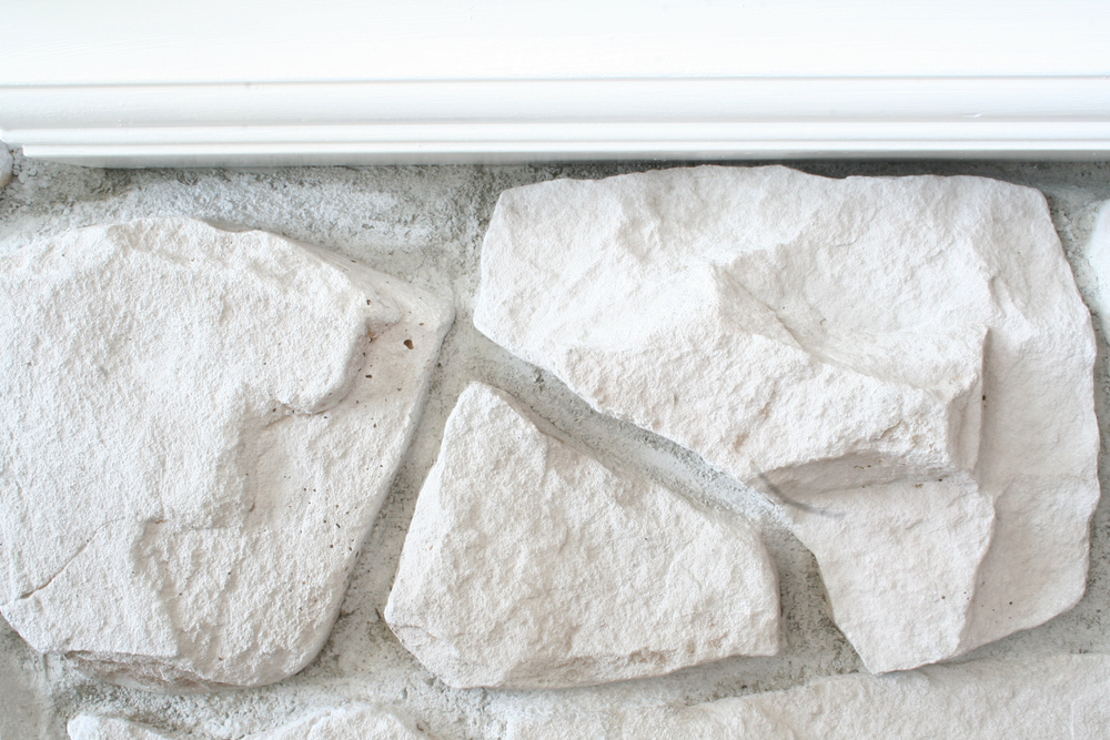 DIY Fireplace Stone Makeover