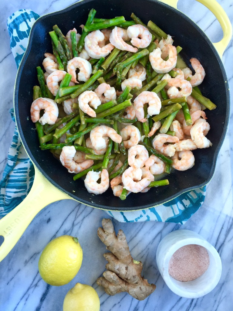 Lemon Ginger Shrimp