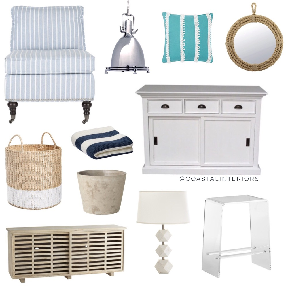 Coastal Beach House Home Decor