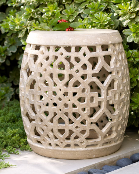 Large Garden Stool for Summer