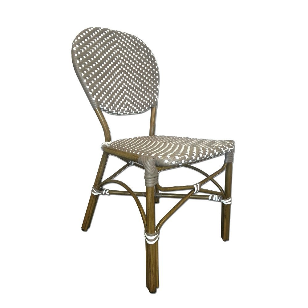 Gray Bistro Chair