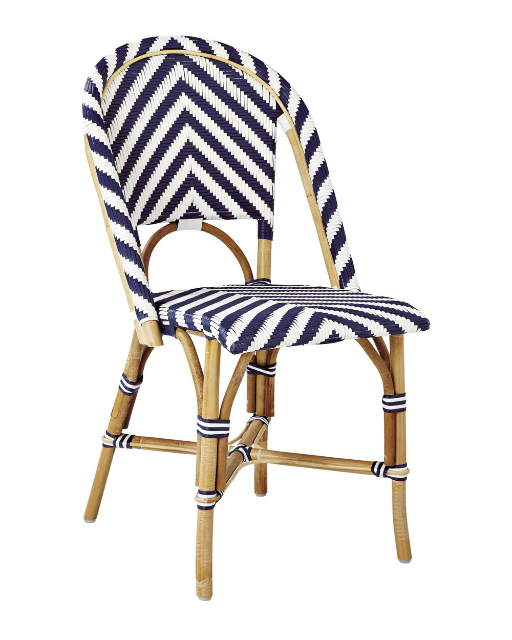 Delicieux Rattan And Woven Bistro Chair