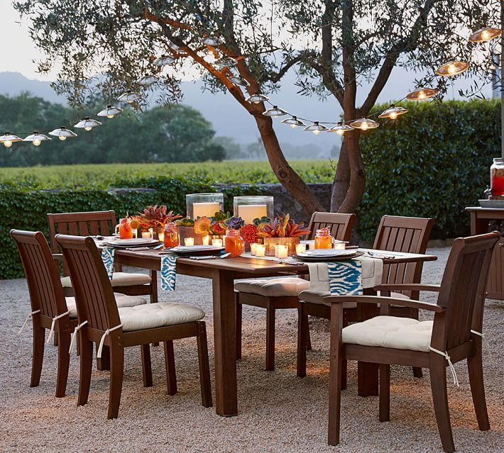 Outdoor Extending dining table