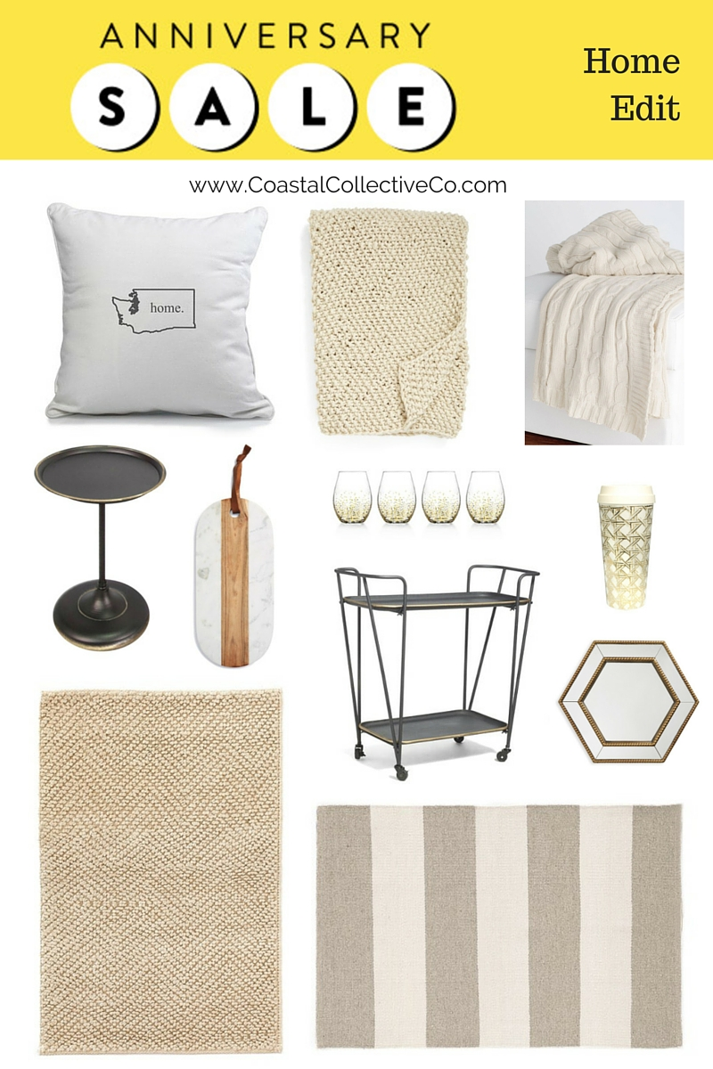 Neutral Home Edit for the Nordstrom Anniversary Sale