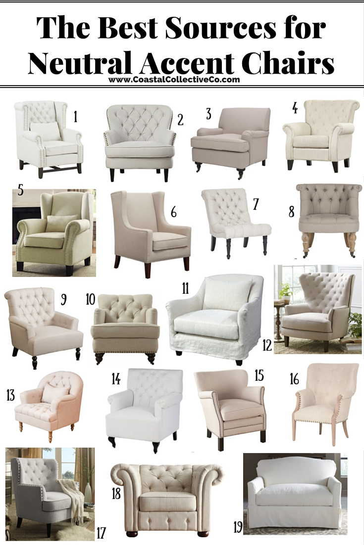 The Best Sources For Neutral Accent Chairs