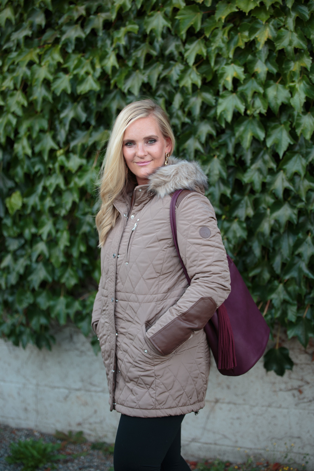 Quilted Anorak Coat for Fall 2016 (Anneke McConnell)