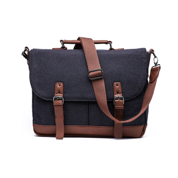 Wool Messenger Bag - Holiday Gift Guide
