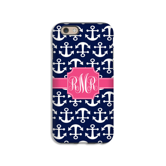 Customized Anchors phone case - holiday gift guide