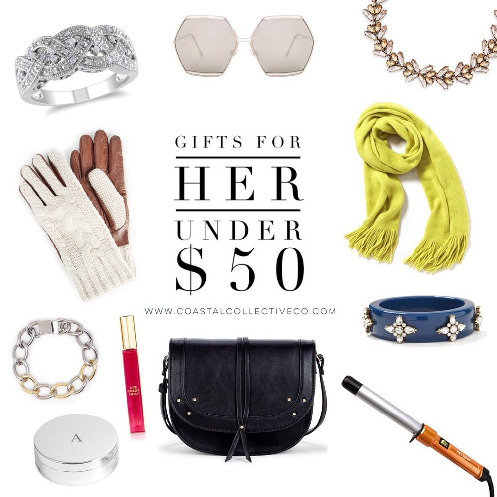 Gift Guide: Gifts for Her Under $50