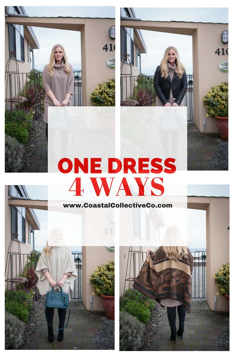 Fall Fashion: One Dress 4 Ways