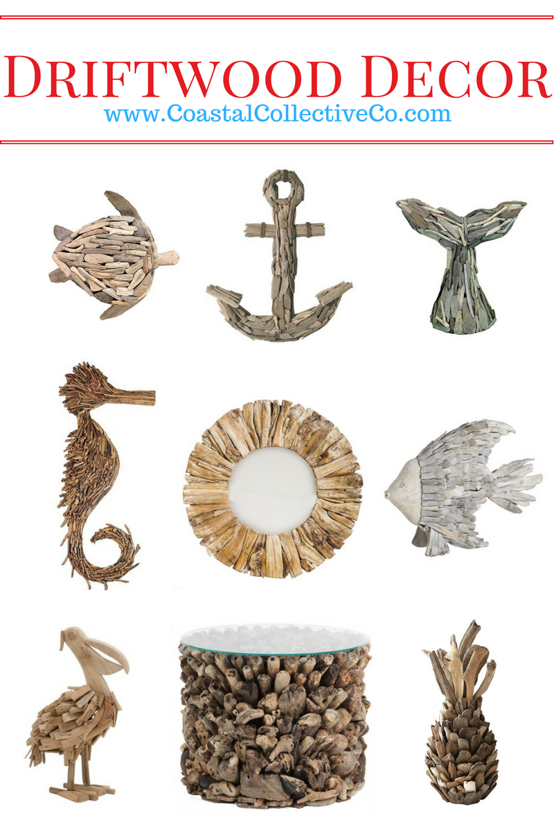 Driftwood Home Decor for that Beach House look