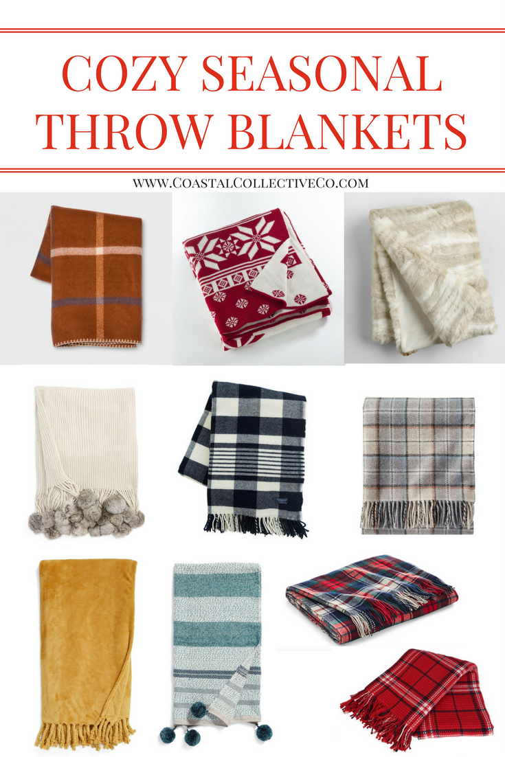 Cozy Throw Blankets for Fall and Winter