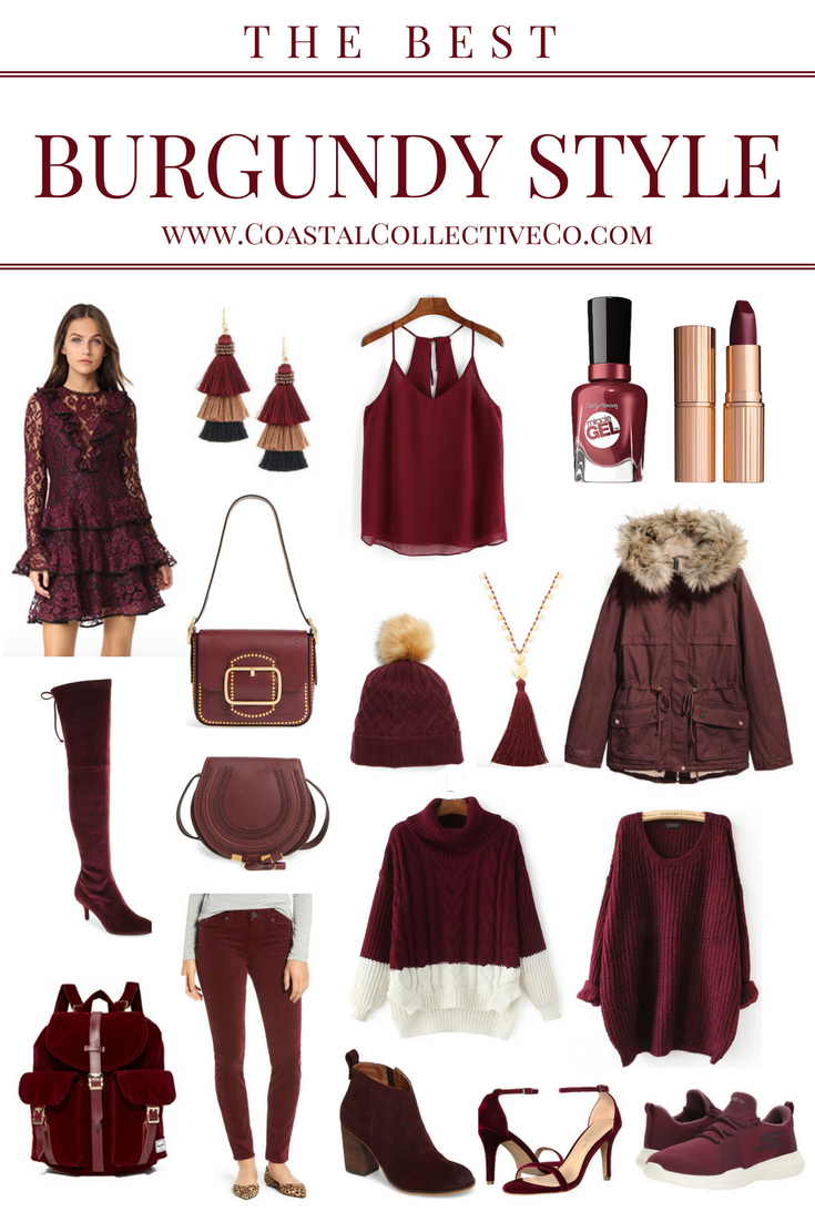 The Best Burgundy Style for Fall and Winter