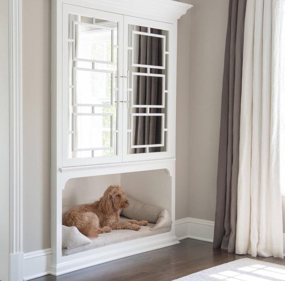 Dog Bed Nook idea
