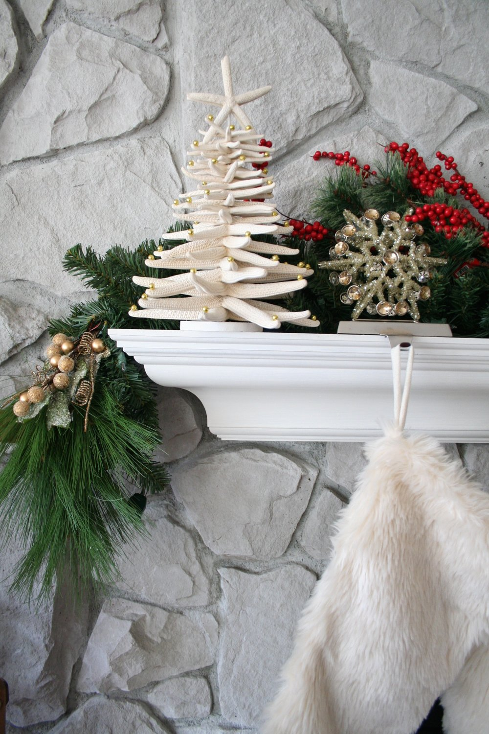 Sea Star Christmas Tree Decor