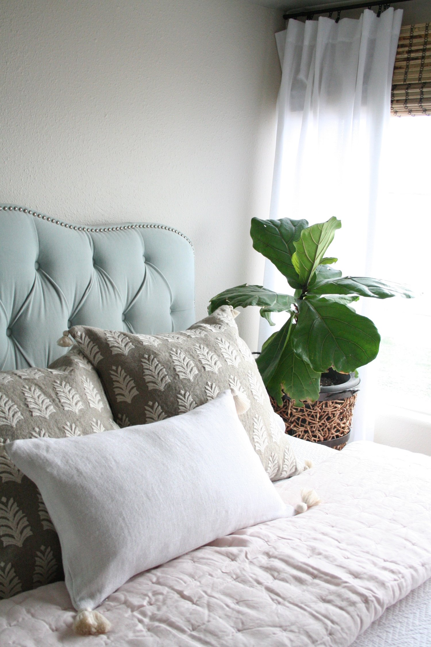 Beach House Master Bedroom Progress — Coastal Collective Co.