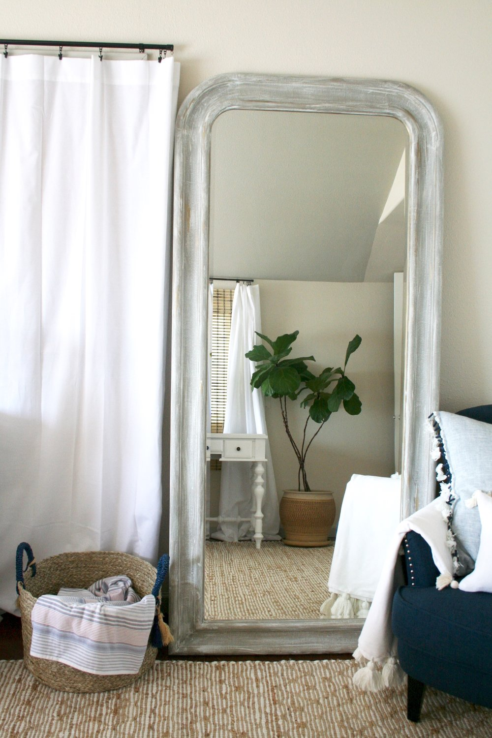 DIY IKEA Mirror Makeover by Anneke McConnell