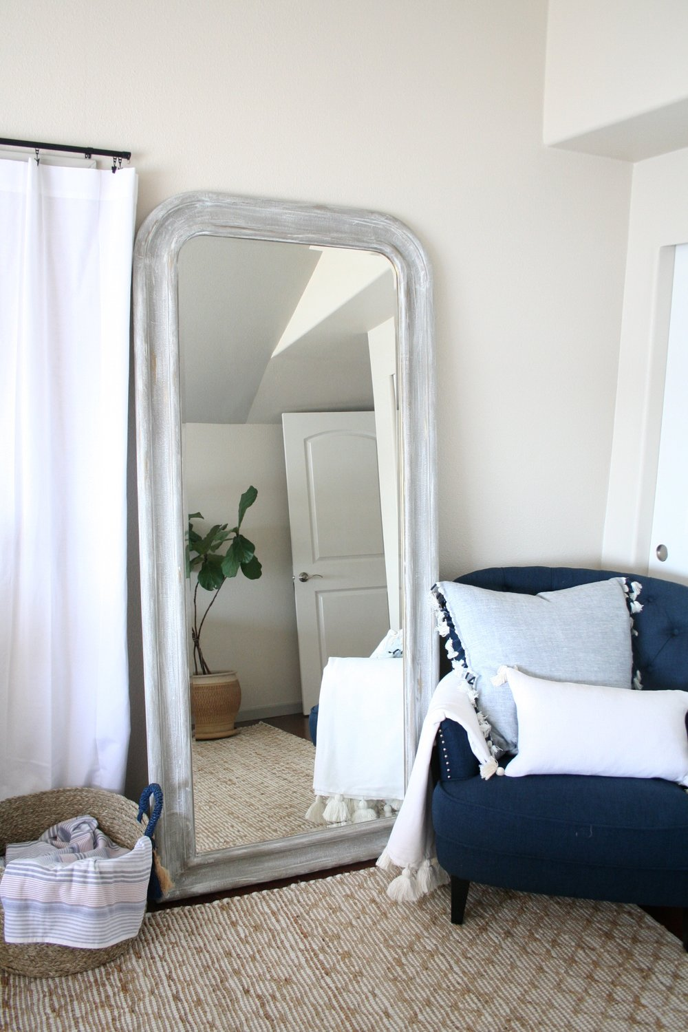 DIY IKEA Mirror Makeover using Annie Sloan Chalk Paint