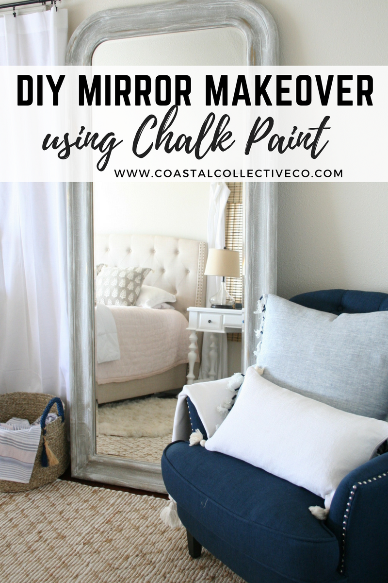 DIY Mirror Makeover Using Chalk Paint