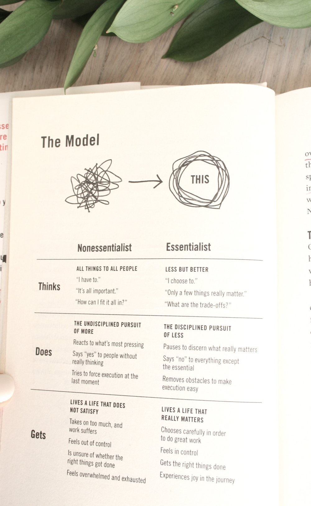 Essentialism Book Review for Mom Boss Book Club