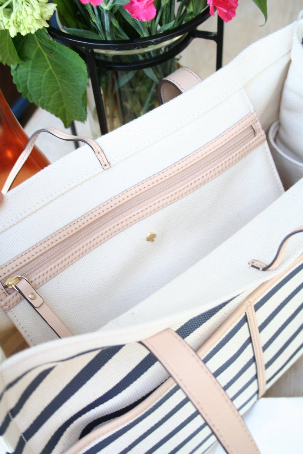 Striped Tote for Summer