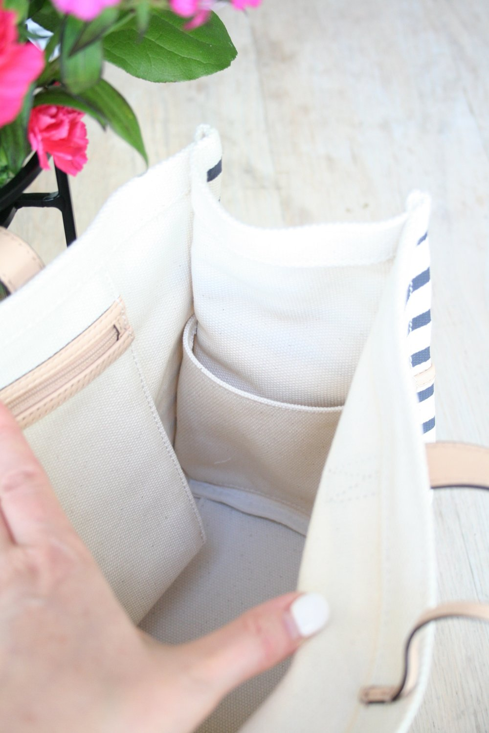 Striped Kate Spade Tote for Summer