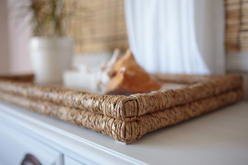 Seagrass Tray Details